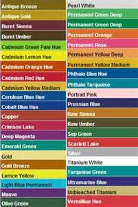 apple barrel brand acrylic paint color chart crafting
