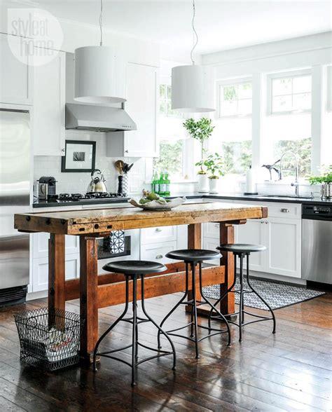 mission style kitchen island house tour craftsman style home kitchen design