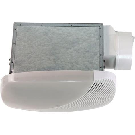 nuvent bathroom fan nuvent bath fan with light 50 cfm model nxms50l