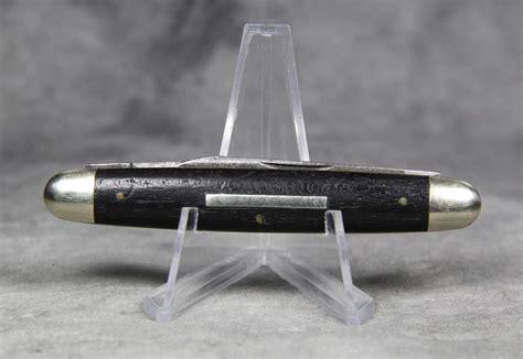 vintage pen knives vintage ulster knife co 2 blade pen knife current market