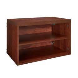 home depot closetmaid closetmaid impressions 25 in cherry 4 shelf