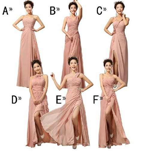 New Mix Style by Custom New Mix Style Bridesmaid Dresses Many Colors