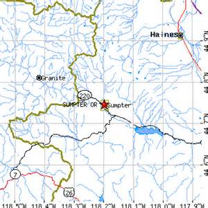 sumpter oregon map sumpter oregon or population data races housing