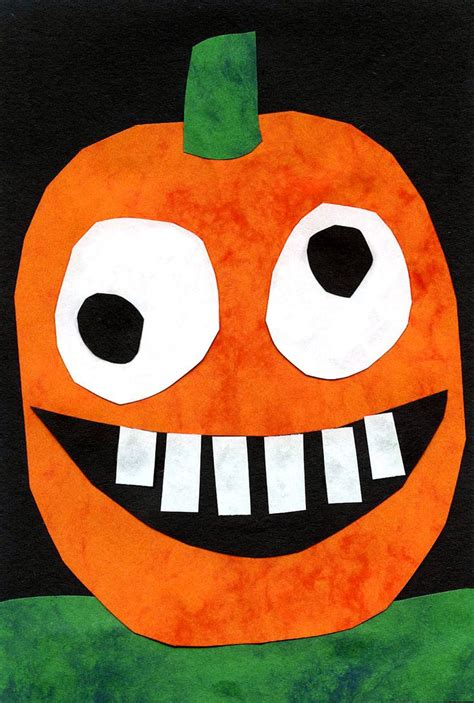 Construction Paper Pumpkin Crafts - pumpkin collage pumpkins for and construction