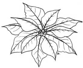 poinsettia coloring page beccy s place poinsettia