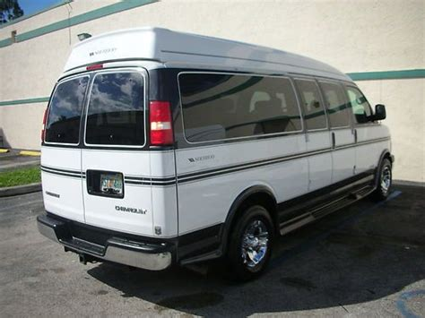 best vans for cer conversion buy used 2005 9 passenger hi top conversion in fort