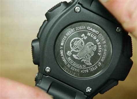 Casio G Shock Mudman G 9300 1 Original casio g shock mudman g 9300gb 1 indowatch co id