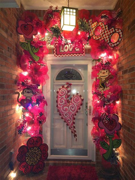 door decorations for valentines 25 best ideas about decorations on