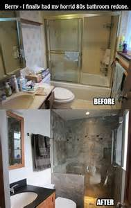 tub shower ideas for small bathrooms 10 before and after bathroom remodel ideas for 2016 2017