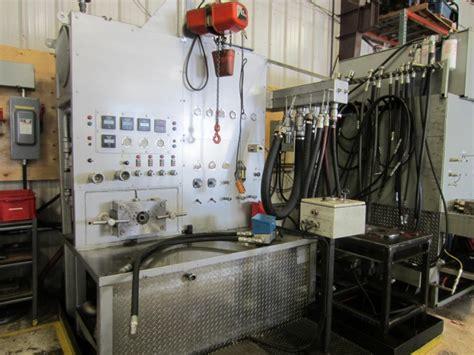 hydraulic cylinder test bench iroc hydraulics testing