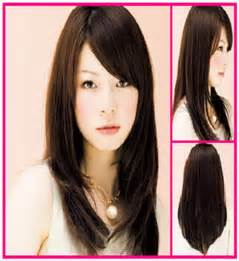 Long layered hairstyles with side swept bangs all hair style for