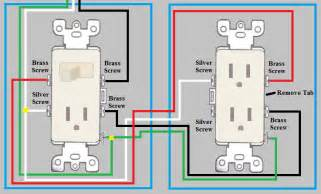electrical how do i wire a duplex outlet from a switch