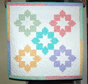 Baby Quilt Quarters by Quarter Baby Quilt