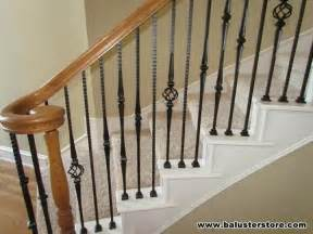 Staircase Banister Parts High Quality Iron Balusters For Stairs Railing Iron Stair