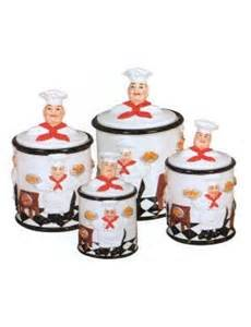 chef kitchen decor sets 4pc kitchen canister set chef bistro kitchen decor 59 99