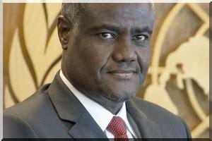 Moussa Faki Agapito Mba Mokuy by Commission De L Ua La Mauritanie Soutient La Candidature
