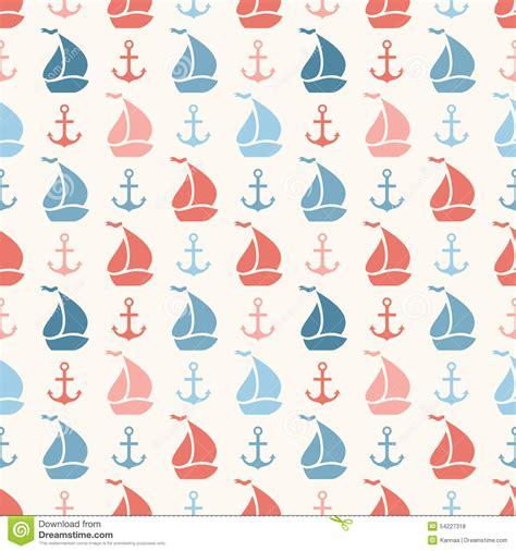 shape pattern website seamless vector pattern of anchor sailboat shape stock