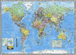 map of the world wall mural world map wall mural pr94055