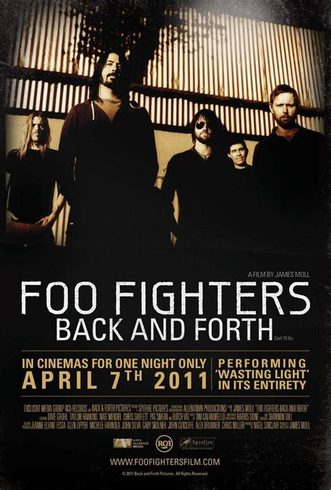 back and forth foo fighters back and forth 2011 filmaffinity