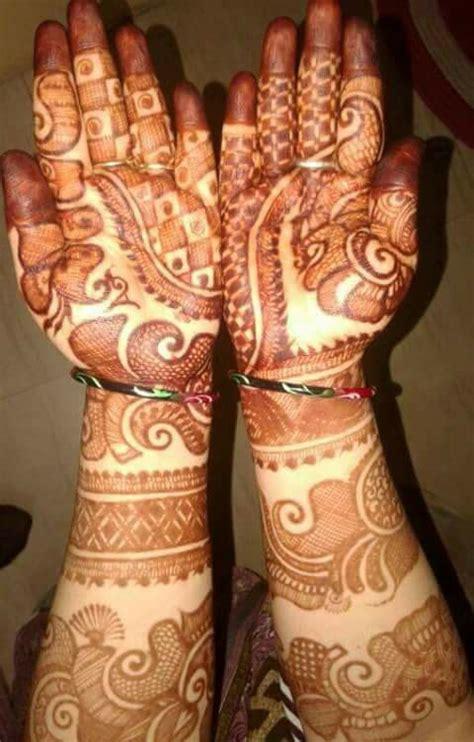 unique bridal mehndi design  hands fashion beauty