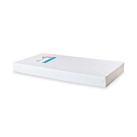Size Of A Crib Mattress Foundations 174 Infapure 5 Inch Size Foam Crib Mattress Buybuy Baby
