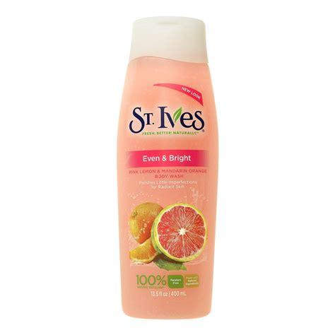 St Ives Pink Lemon Mandarin Orange st ives even bright pink lemon mandarin orange