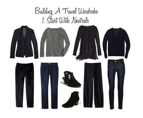 Travel Wardrobe by Building A Carry On Travel Wardrobe