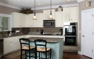 Kitchen Paint Ideas With White Cabinets by Annie Sloan Duck Egg Blue Painted Kitchen Cabinets