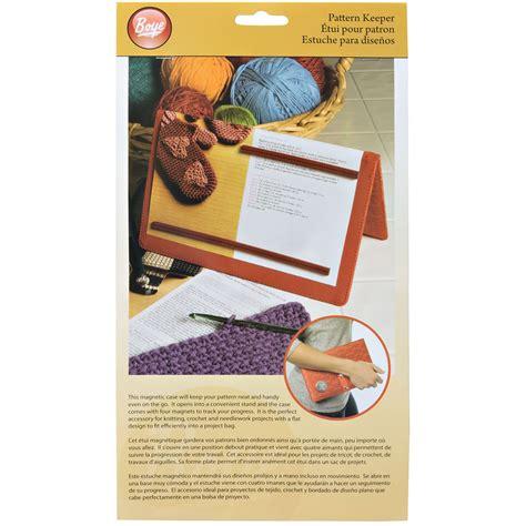 knitting pattern keeper boye pattern keeper