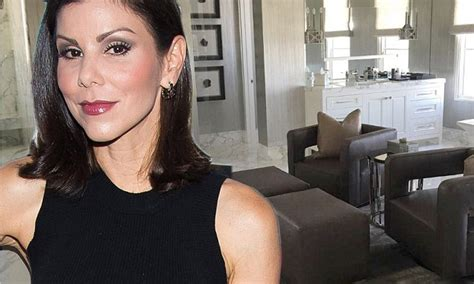 heather dubrow shares sneak peek of her new master bathroom on instagram daily mail online about time heather dubrow shares sneak peek of her new