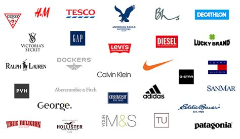 the top 30 textile apparel clothing manufacturers and