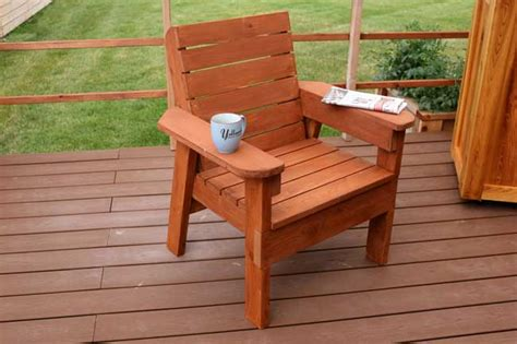 Woodworking Plans For Outdoor Chairs