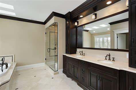 bathroom with dark cabinets 57 luxury custom bathroom designs tile ideas designing