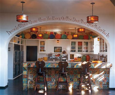 spanish inspired home decor spanish kitchen ideas afreakatheart
