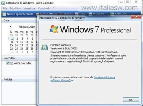 Windows Calendar Windows Calendar Su Windows 7 E Windows 8