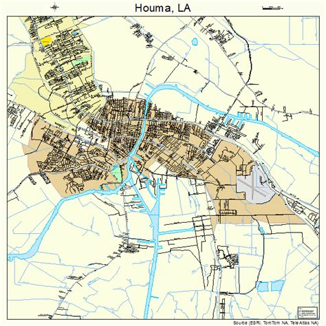 louisiana map showing houma houma la pictures posters news and on your