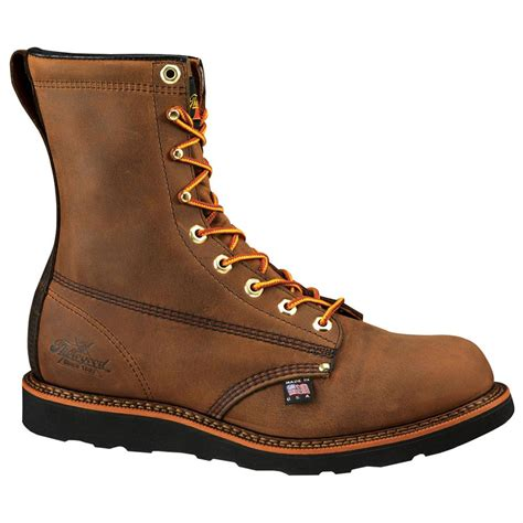 mens wedge boots s thorogood 174 8 quot american heritage wedge boots 158591