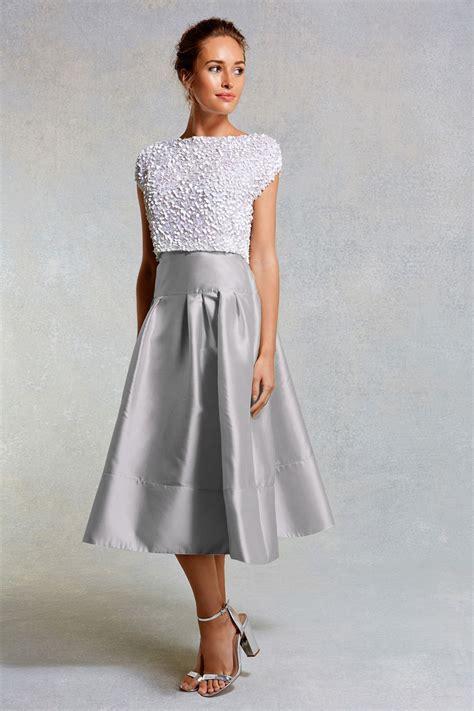 Bridesmaid Dresses Separates Uk - bridesmaid separates coast silver skirt gray wedding
