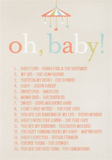 baby shower songs 25 best ideas about baby shower playlist on