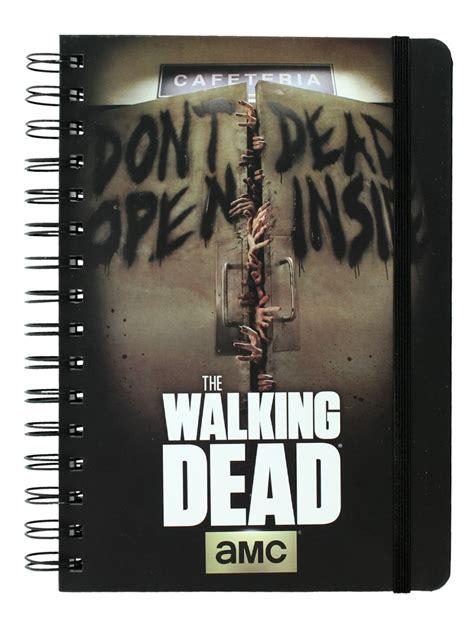 Kaos The Walking Dead Dont Open Dead Inside Putih 1 the walking dead don t open dead inside a5 notebook buy