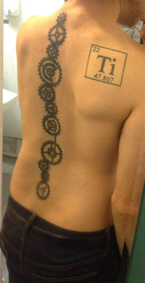 mens spine tattoos spine tattoos for ideas and designs for guys