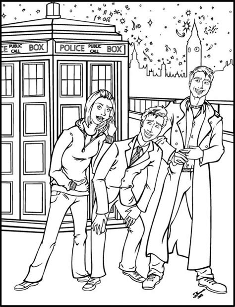 doctor who coloring pages online get this doctor who coloring pages online printable b6qsa