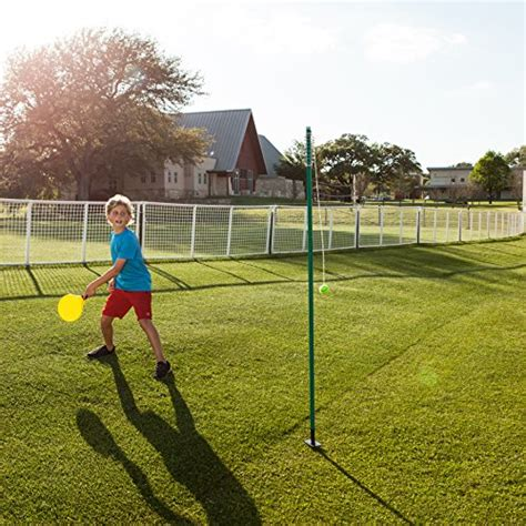 backyard tennis game chion sports tetherball tennis swingball outdoor lawn
