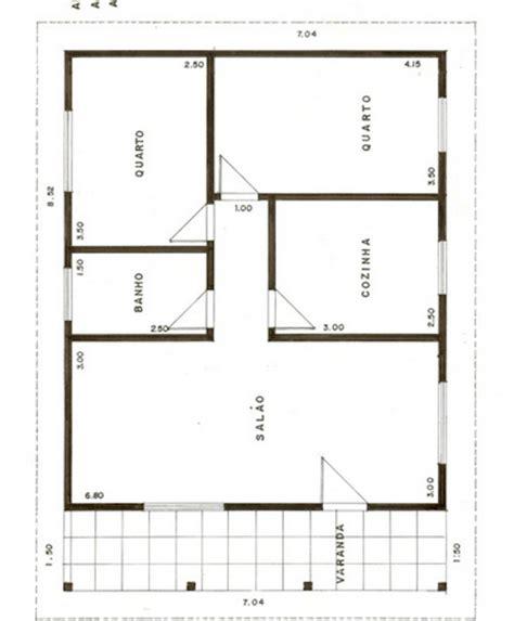 plantas casas plantas de casas populares 27 modelos de projetos