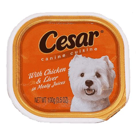 cesar food cesar food with chicken liver in meaty juices 3 5oz