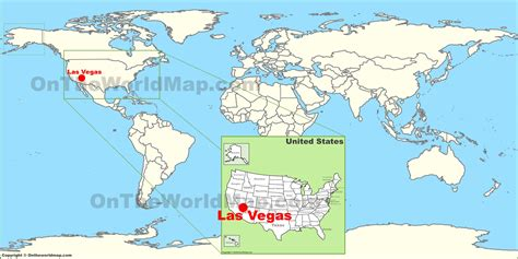 map usa las vegas image gallery las vegas map usa