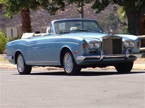 rolls royce corniche 1972 1972 rolls royce corniche for sale classiccars cc