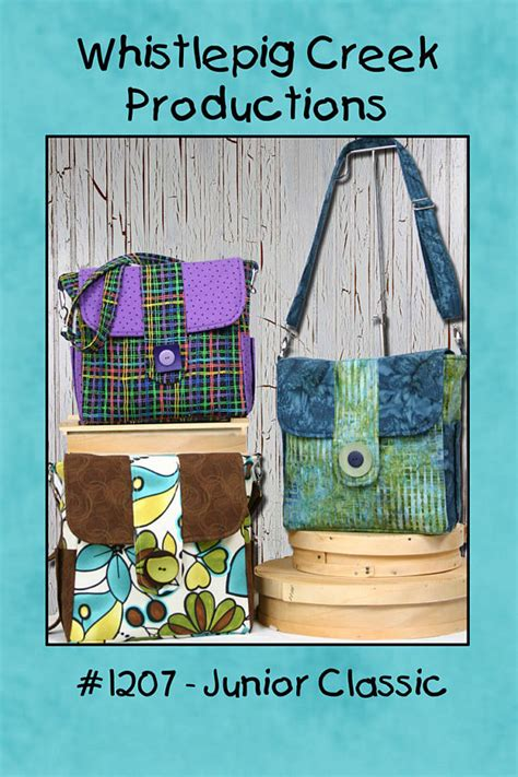 etsy tote bag pattern junior classic tote bag sewing pattern by whistlepigcreek