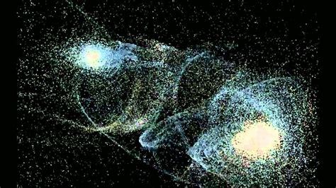 imagenes reales de la galaxia andromeda choques de galaxias via lactea vs andromeda youtube