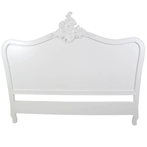 White Headboard Size by White 4ft6 Size Headboard